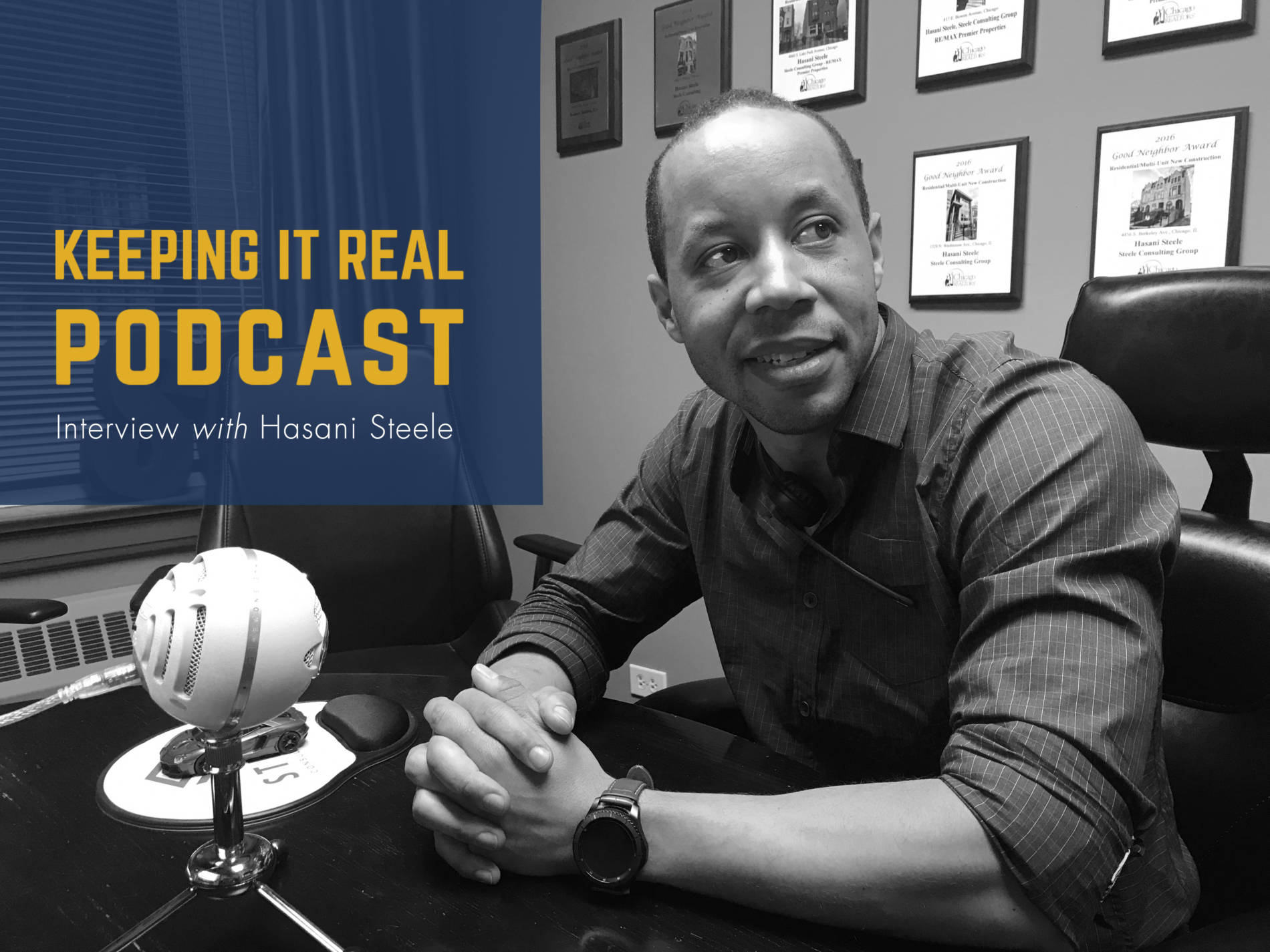 Keeping It Real Podcast with Hasani