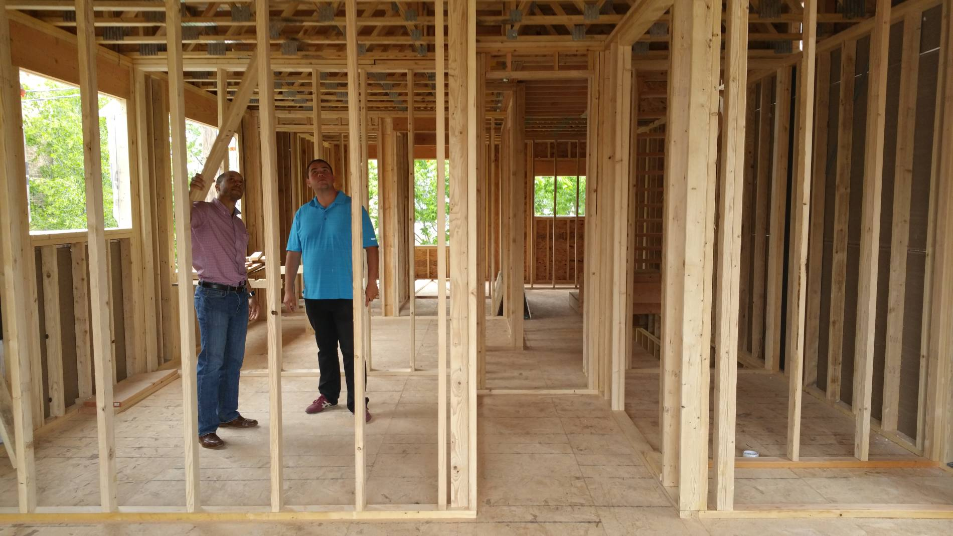 4100 S Vincennes framing walkthrough consulting 4