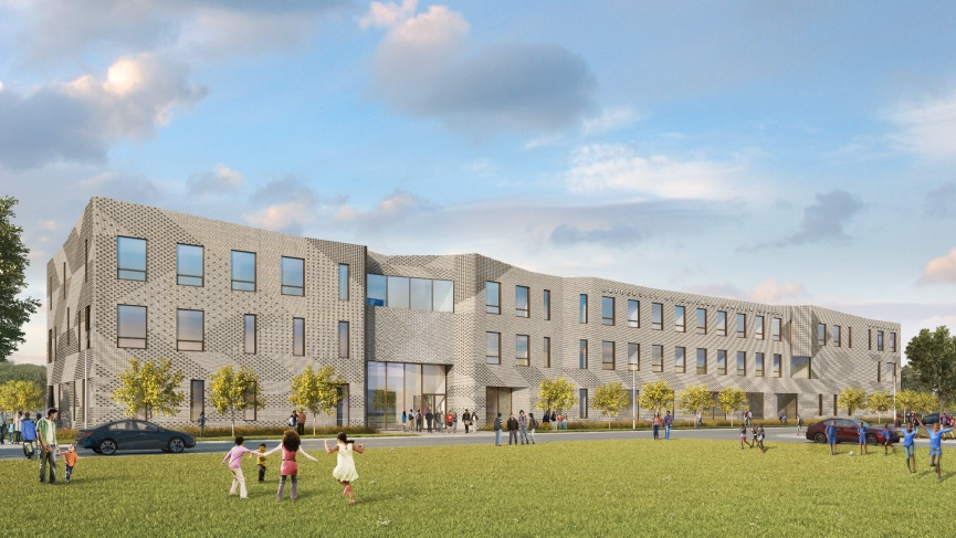 U. of C. Reveals New Plans for Expanded Woodlawn Charter School